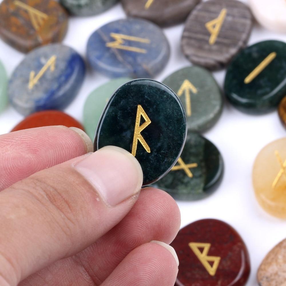 Mixed Rune Stone Set