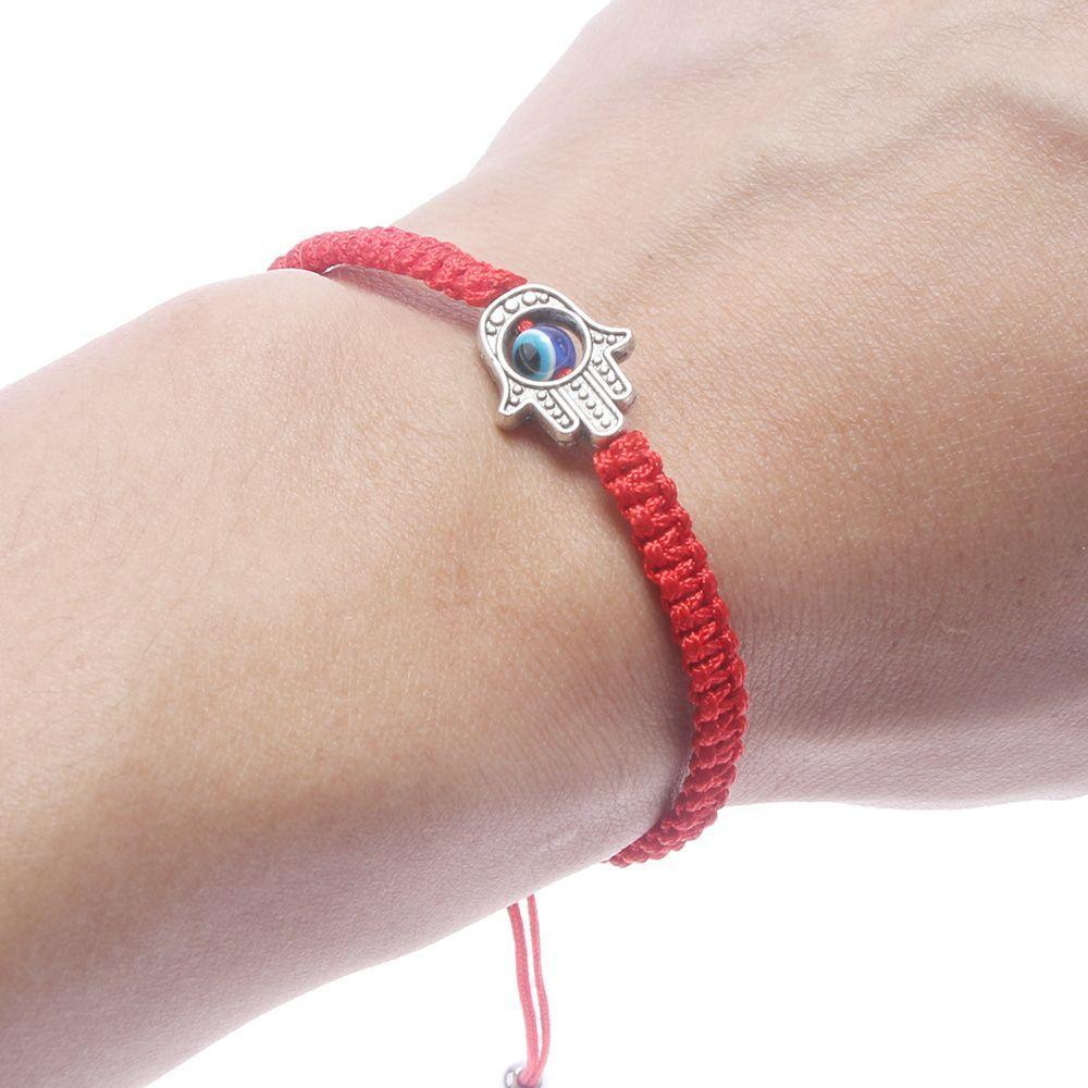 Lucky Kabbalah Hand Bracelet