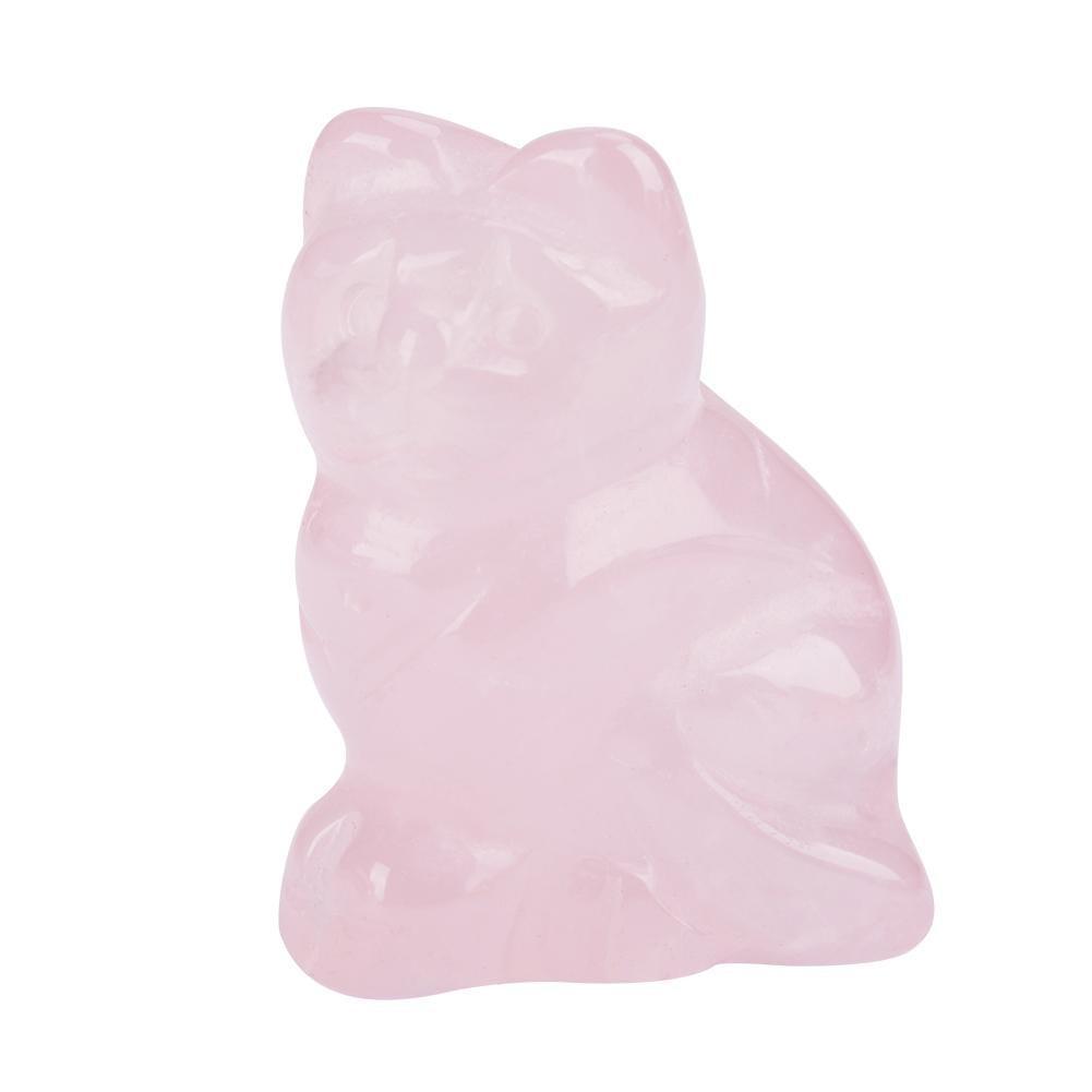 Mini Rose Quartz Kitty