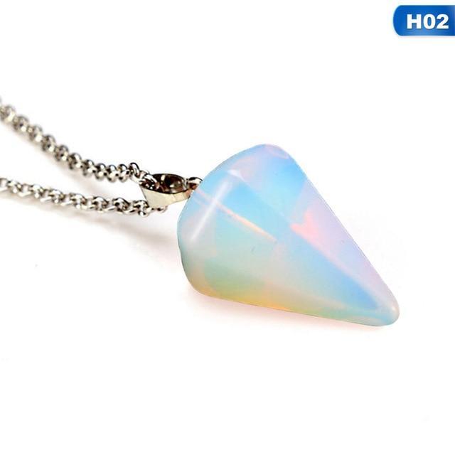 Hot Sale Natural Stone Crystal Pendulum